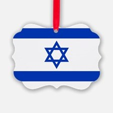 2000px-Flag_of_Israel2clear Ornament