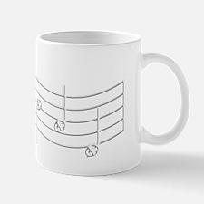 Rues Whistle WHITE Emboss Mug