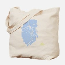 MIA-FL_BL-WH-LM Tote Bag