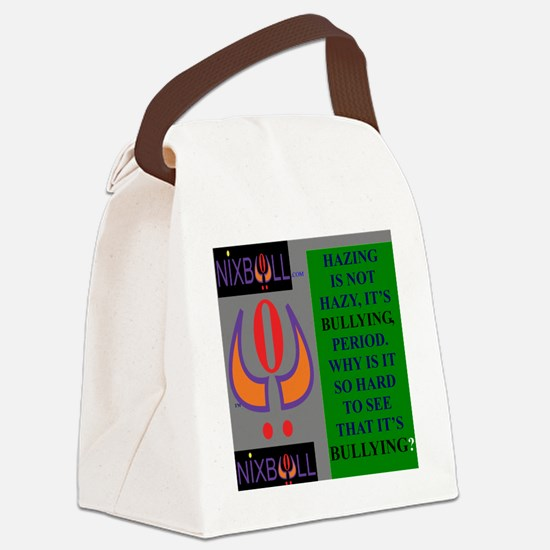 HAZING Canvas Lunch Bag