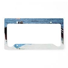 ocityssn large framed print License Plate Holder