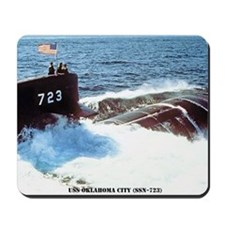 ocityssn large framed print Mousepad