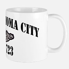 okcssn black lettrs Mug