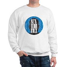 faceDrk copy Sweatshirt