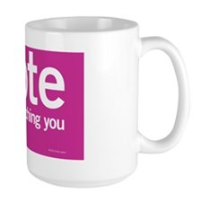 IVote_4x6_Pink Mug