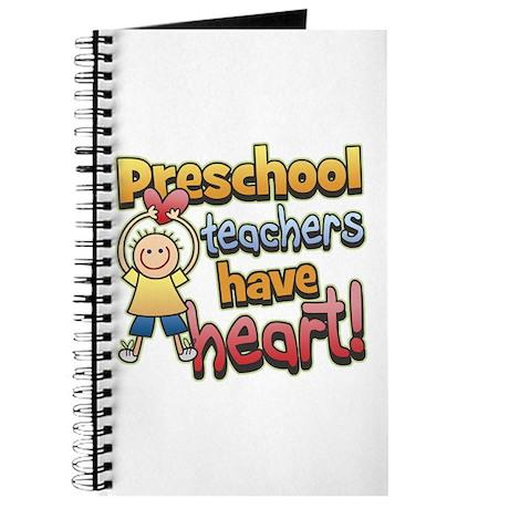 Preschool Teacher Heart Journal