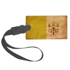 vatican city text3tex3-paint Luggage Tag