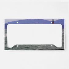 ohio ssbn framed panel print License Plate Holder