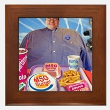 MSG Burger Framed Tile