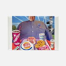 MSG Burger Rectangle Magnet