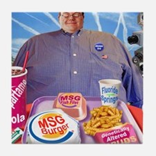 MSG Burger Tile Coaster