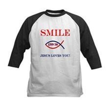 Smile Jesus Loves You Tee