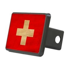 switzerland text3tex3-pain Hitch Cover