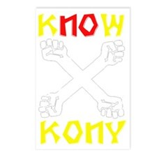 KNOW KONY Postcards (Package of 8)