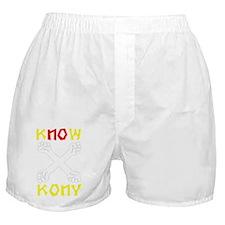 KNOW KONY Boxer Shorts