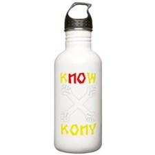 KNOW KONY Water Bottle