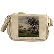 Pissarro: Apple Trees at Pontoise, C Messenger Bag