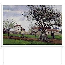 Pissarro: Apple Trees at Pontoise, Camil Yard Sign