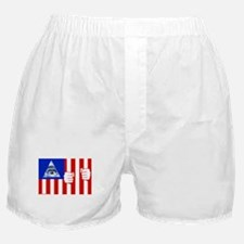 American Flag Boxer Shorts