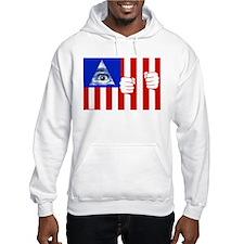 American Flag Jumper Hoody