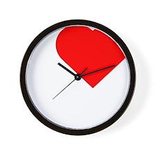 I-love-my-Nanner-Darks Wall Clock