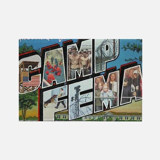 Camp FEMA Rectangle Magnet