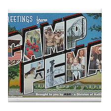 Camp FEMA Tile Coaster