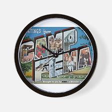 Camp FEMA Wall Clock