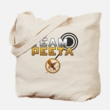 HungerGamesTeamPeeta Tote Bag