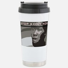 Stop Kony Now Stainless Steel Travel Mug
