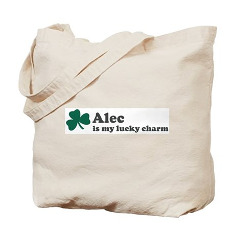 Alec is my lucky charm Tote Bag