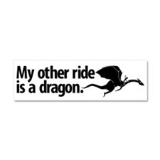 Cute Dragon Car Magnet 10 x 3