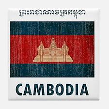 Cambodia6 Tile Coaster