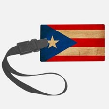 Puerto Ricotex3tex3-paint Luggage Tag