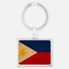 Philippinestex3tex3-paint Landscape Keychain