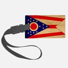 Ohiotex3tex3-paint Luggage Tag