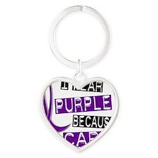 I Care Heart Keychain