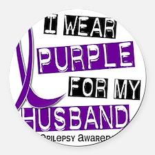Husband Round Car Magnet