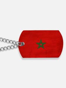 Moroccotex3tex3-paint Dog Tags