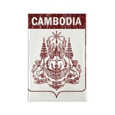 Cambodia7 Rectangle Magnet