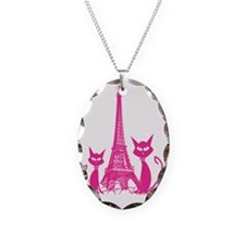 Paris cats Necklace