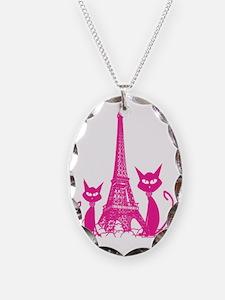 Paris cats Necklace