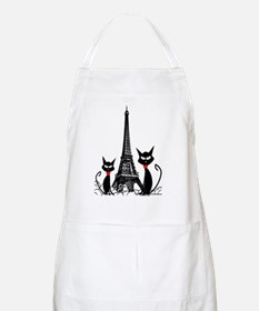 eiffel tower cats 3 FINISHED Apron