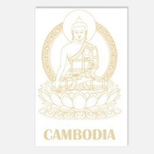 Cambodia8Bk Postcards (Package of 8)