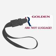 retriversDARK Luggage Tag