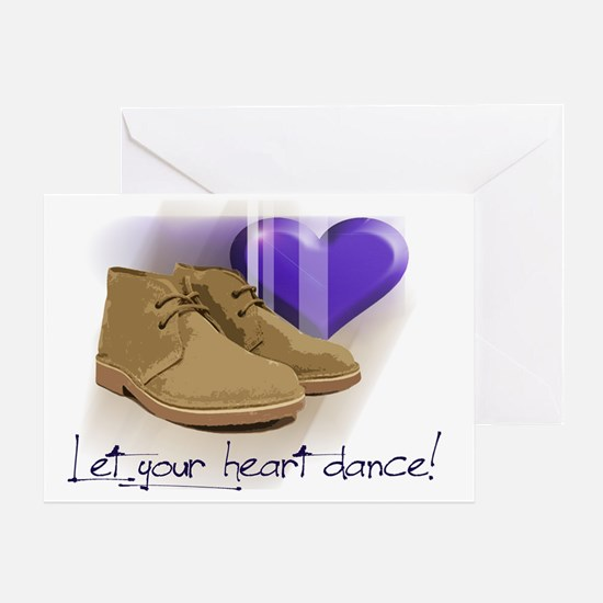 Let your heart dance polo Greeting Card