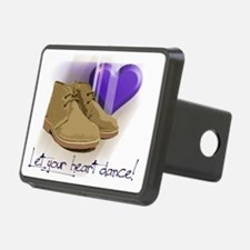 Let your heart dance polo Hitch Cover