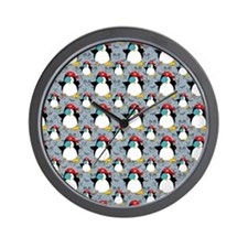 patternpenguinpirate2000 Wall Clock