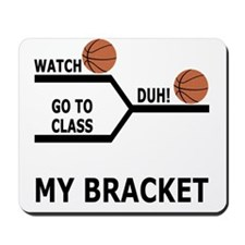 March Madness Basketball Funny T-Shirts Mousepad