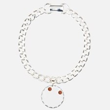 March Madness Basketball Bracelet